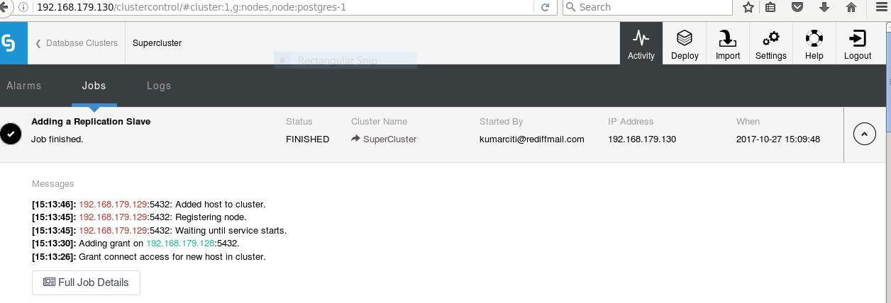 Become a PostgreSQL DBA: Adding Additional Nodes To a