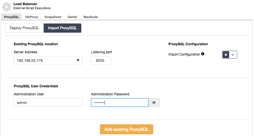 What's New with ProxySQL in ClusterControl v1 4 2 – ORACLE数据库服务