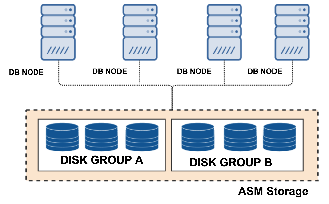 Oracle RAC, Cluster storage