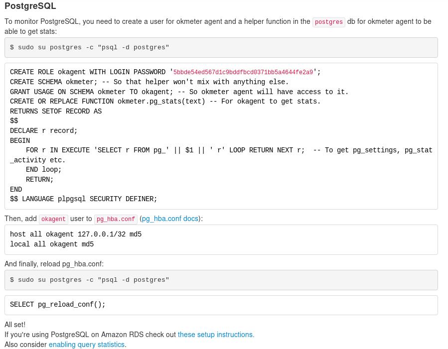 Okmeter - Adding a server
