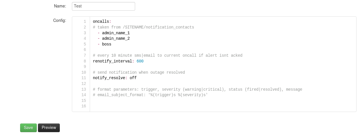 Okmeter Notification Message Template