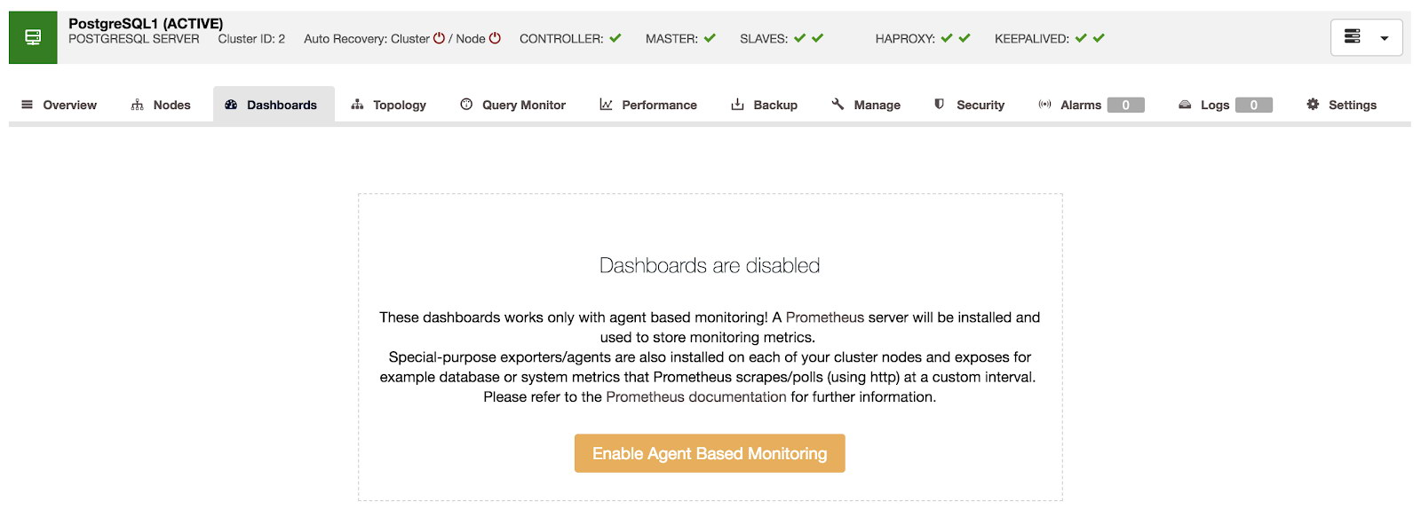 How to Monitor Your ProxySQL with Prometheus and