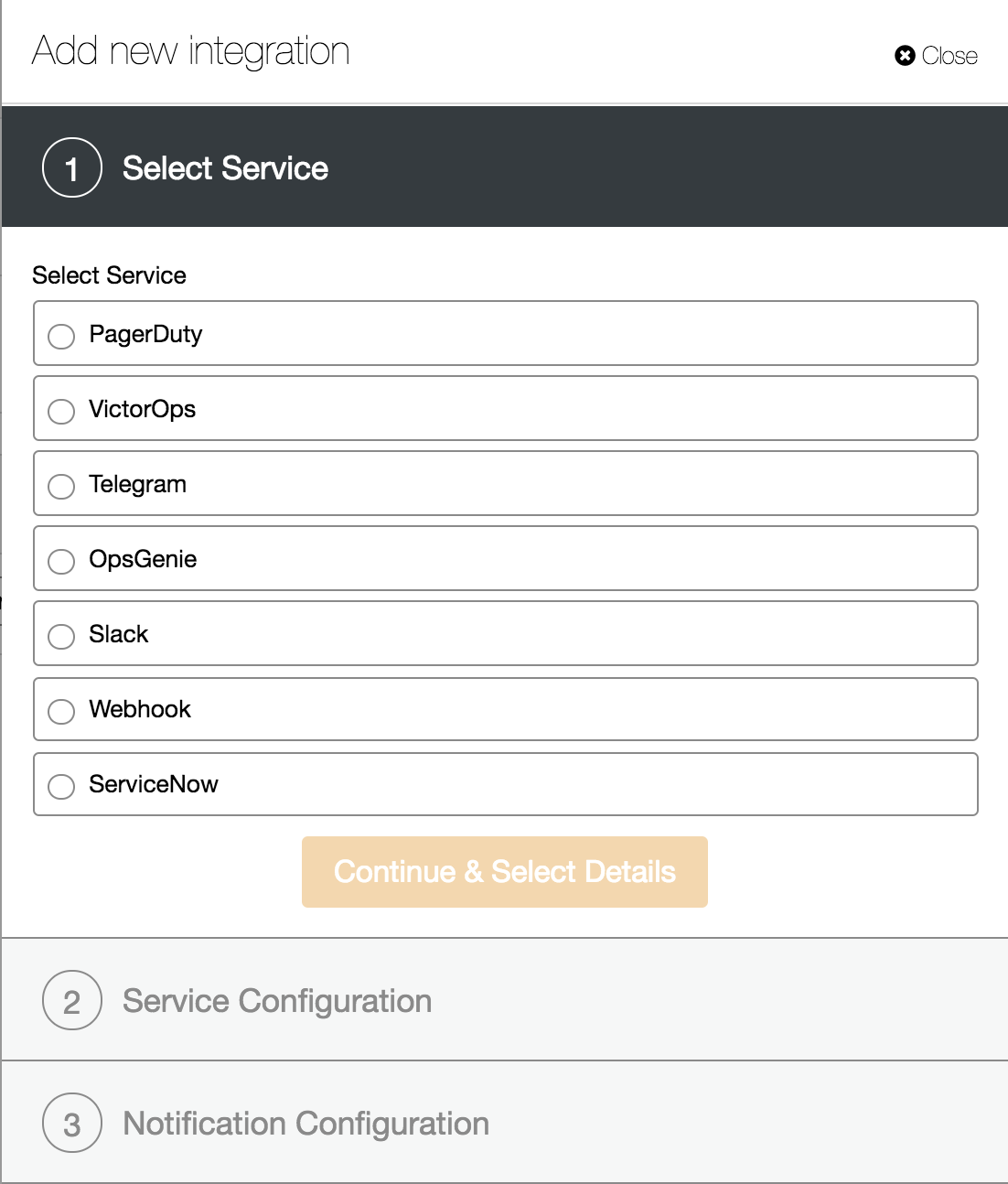 ClusterControl Integration Services