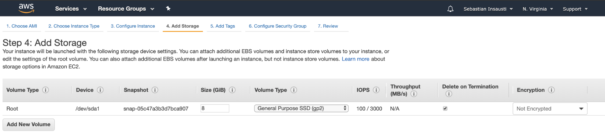 Amazon EC2 Add Storage