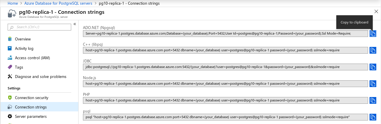 Azure Database for PostgreSQL: Single server --- read replica missing firewall rules after creation