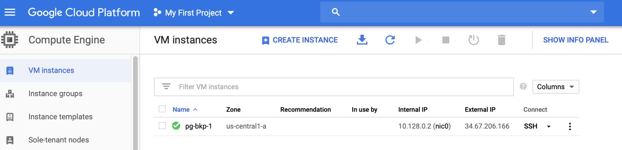 Google Cloud Compute Engine