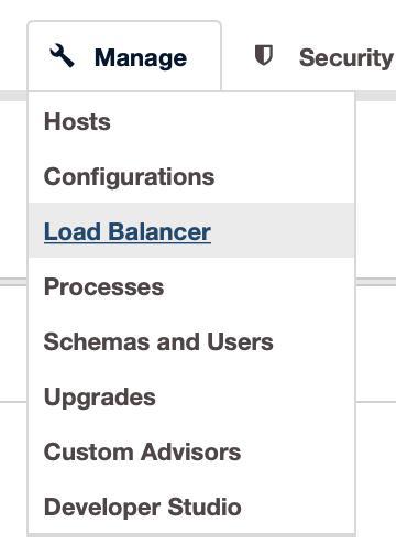 Add a Load Balancer - ClusterControl