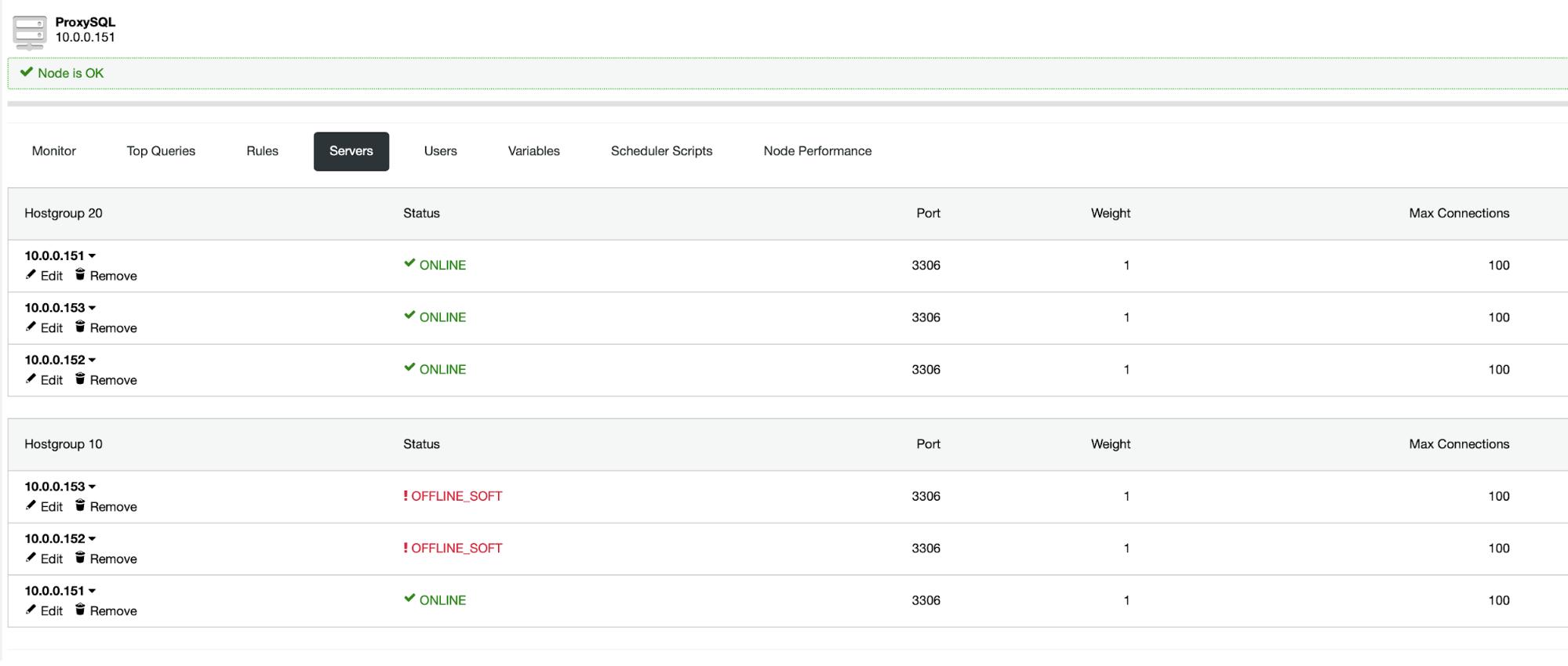 ProxySQL Server Setup - ClusterControl