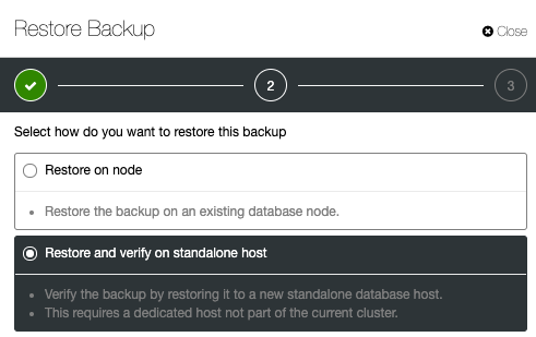 Database Backup Verification