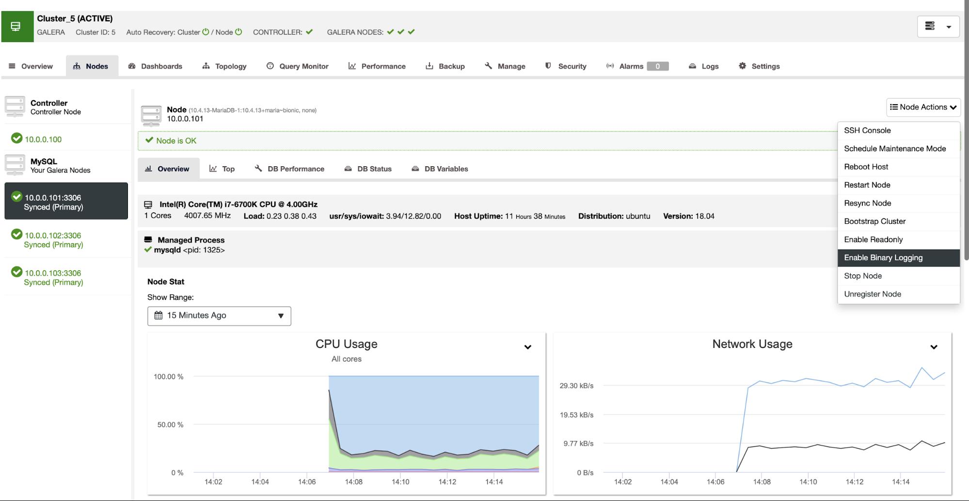 Deploying MariaDB Clusters Using Asynchronous Replication