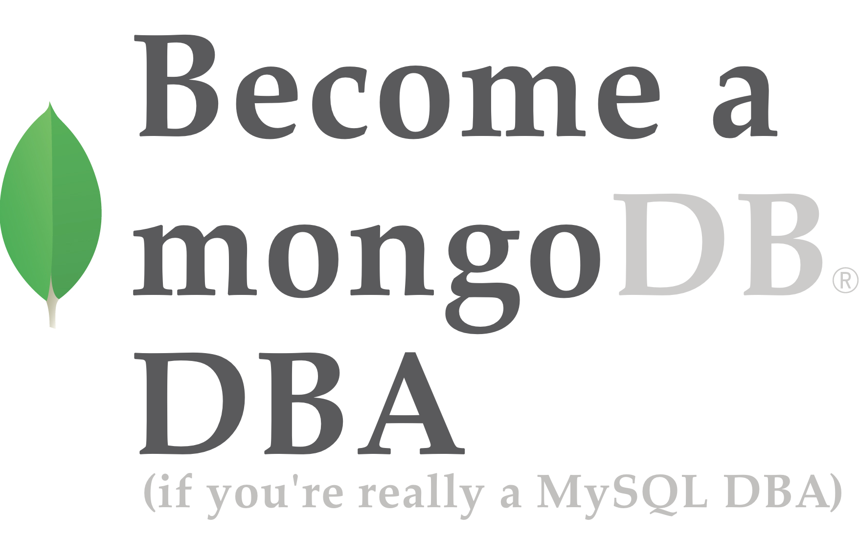 Become a MongoDB DBA: MongoDB Sharding Ins & Outs - Part 1